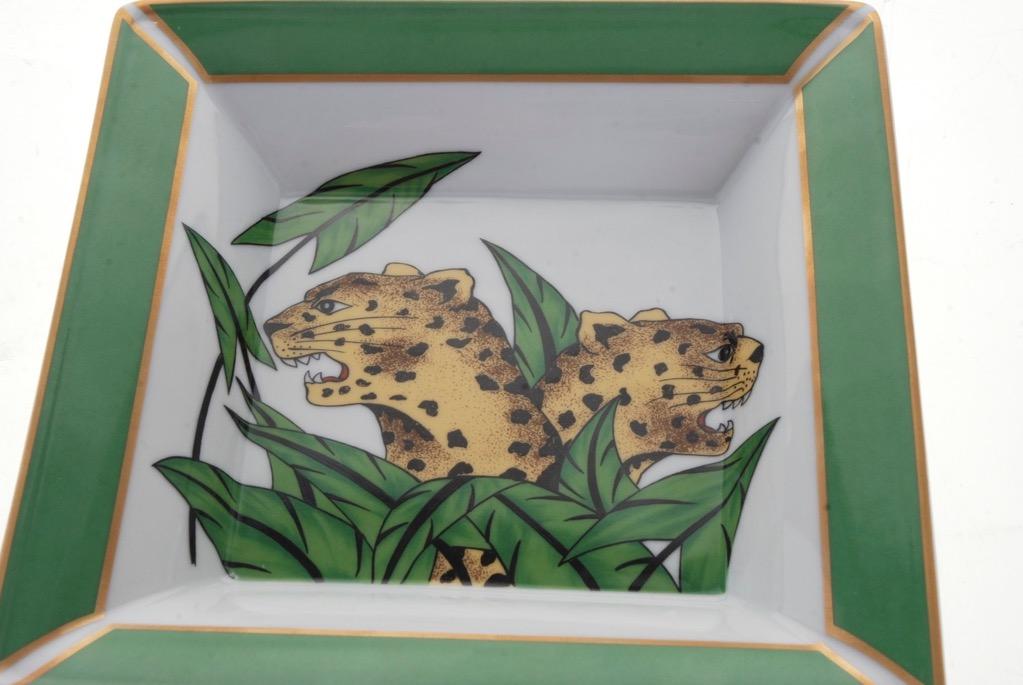 commemorative philippe deshoulieres vide poche sq dish sophie d 39 e pattern ebay. Black Bedroom Furniture Sets. Home Design Ideas