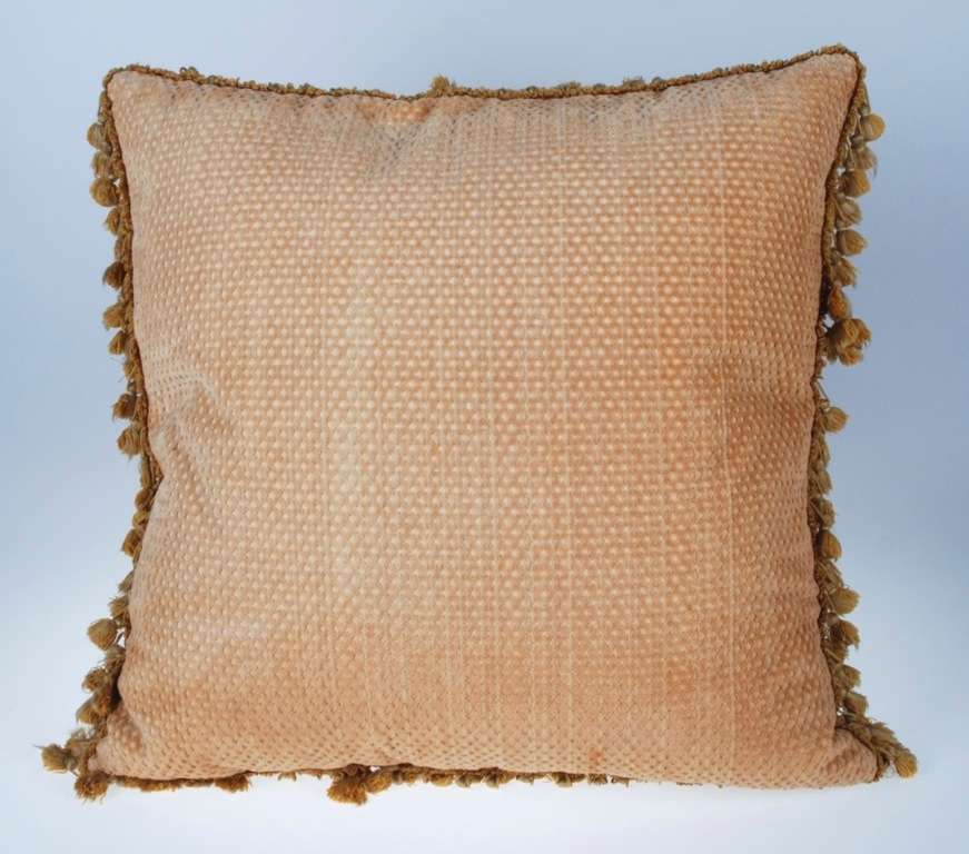 Decorative Down Pillows : VINTAGE AUBUSSON DECORATIVE DOWN FEATHER PILLOW 20